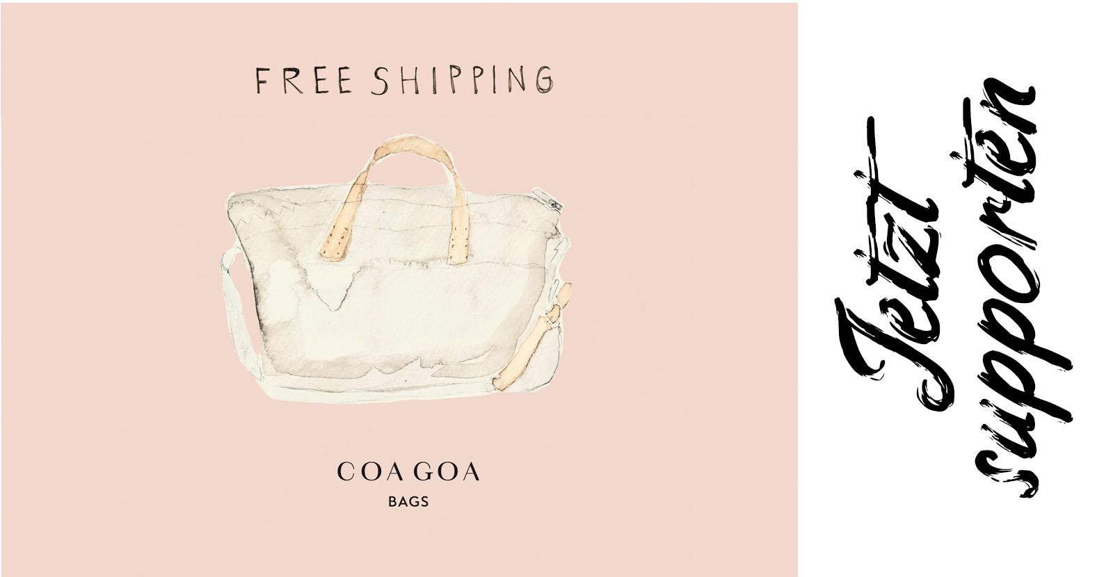 Versandkostenfreie Upcycling-Bags by Coa Coa
