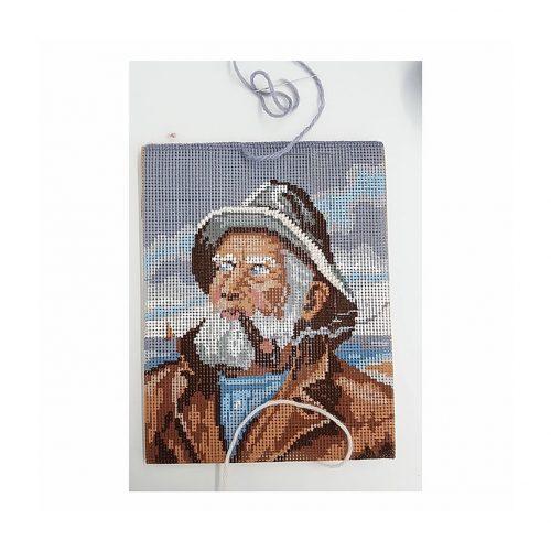 Gobelin Stickerei by Anna Schuster