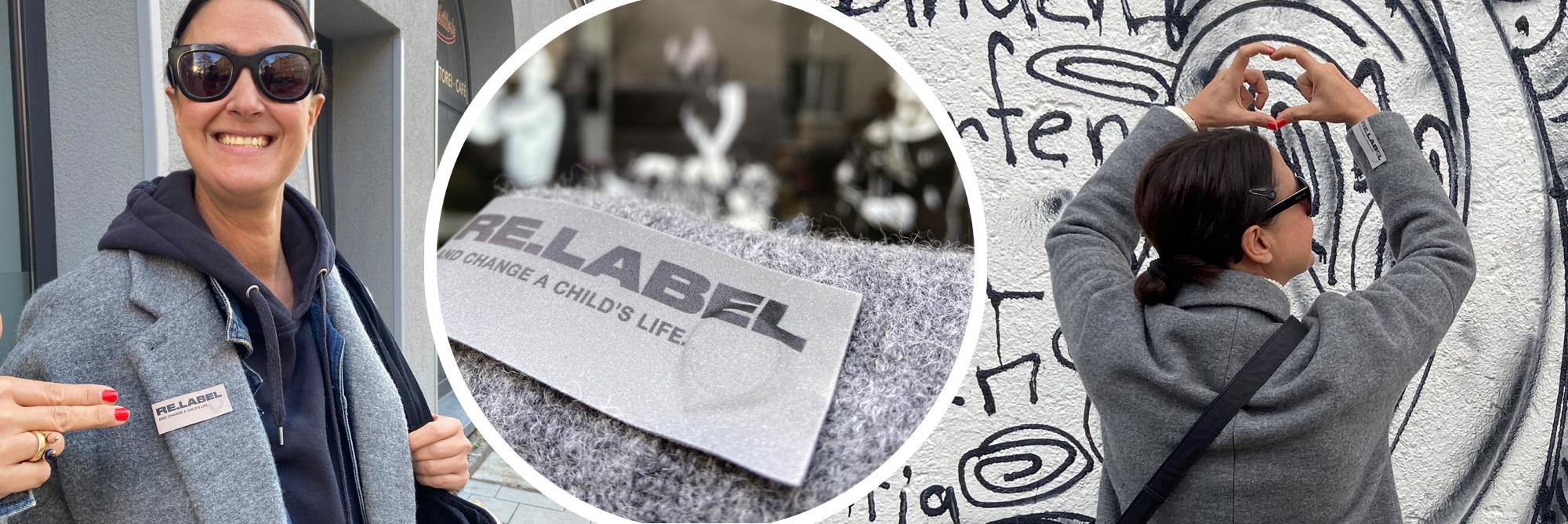 RE.LABEL – Statement-Accessoire mit Message