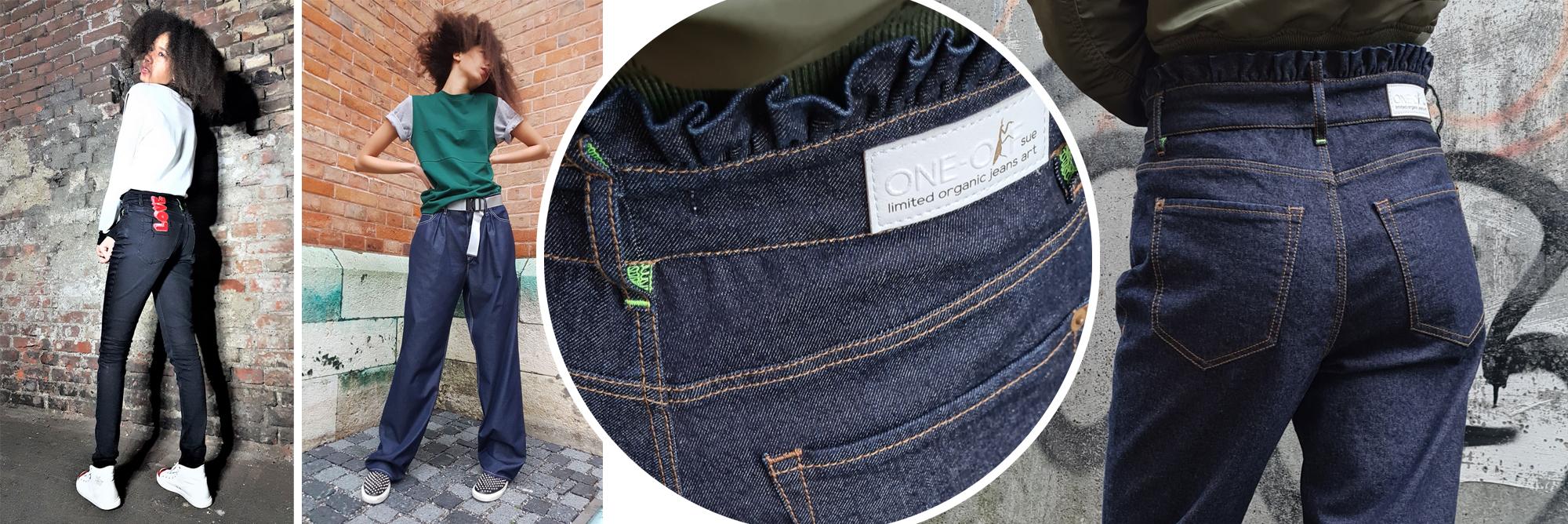 ONE-OFFsue – einzigartige Jeans