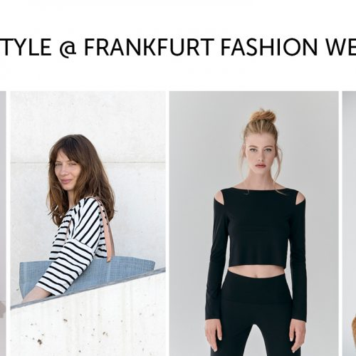 GREENSTYLE @ Frankfurt Fashion Week – back to the future