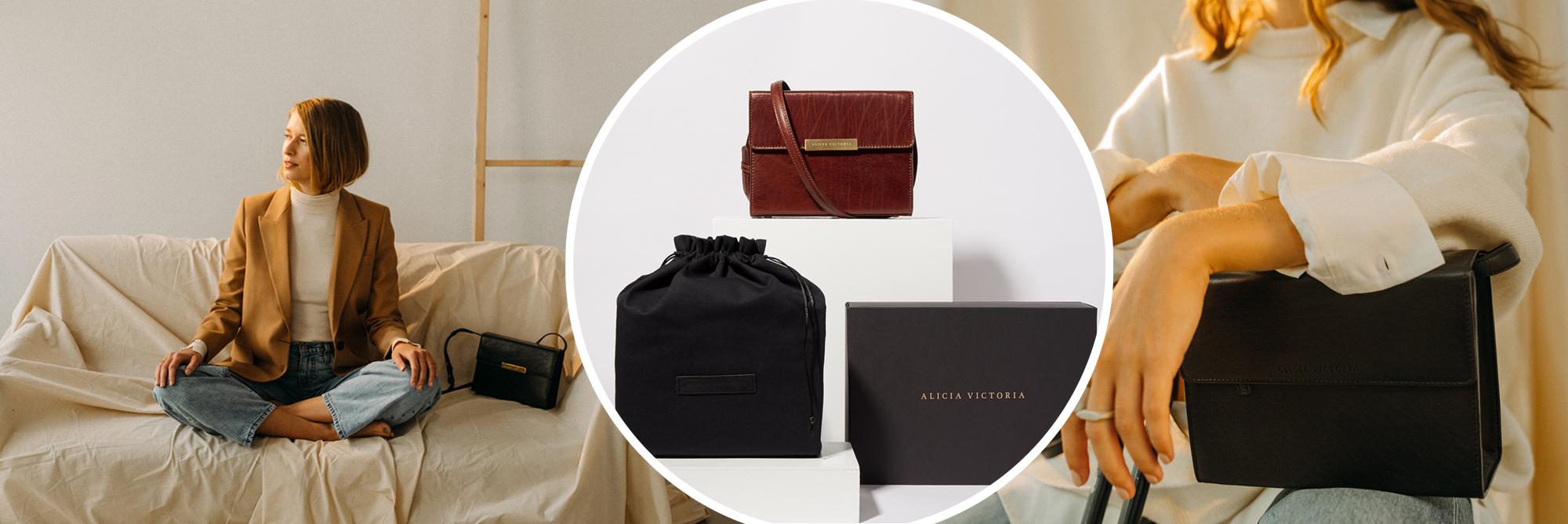ALICIA VICTORIA – less waste leather